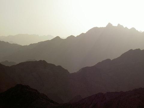 Egyptian hills